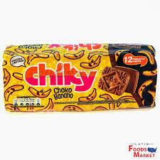 CHIKY CHOKOBANANO COOKIE 12PK 480G