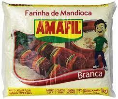 AMAFIL FARINHA MANDIOCA BRANCA 1KG