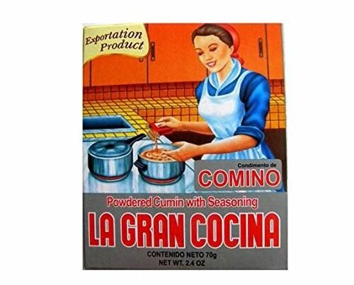 LA GRAN COCINA CUMIN WITH SEASONING 70G