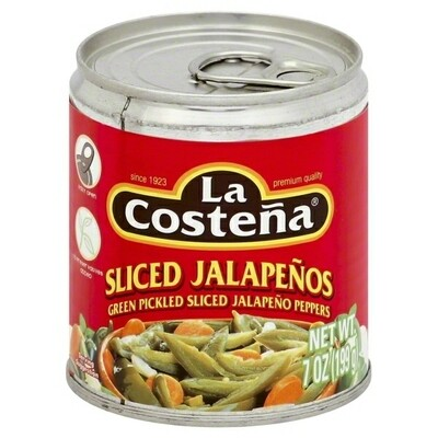 LA COSTENA JALAPENO SLICED 7OZ