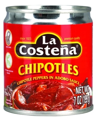 LA COSTENA CHIPOTLES EN ADOBO 7OZ
