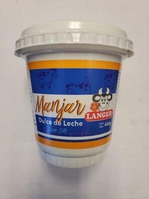 LANGER MANJAR DULCE DE LECHE 400G
