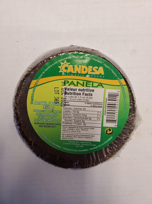 CANDESA PANELA REDONDA 450G