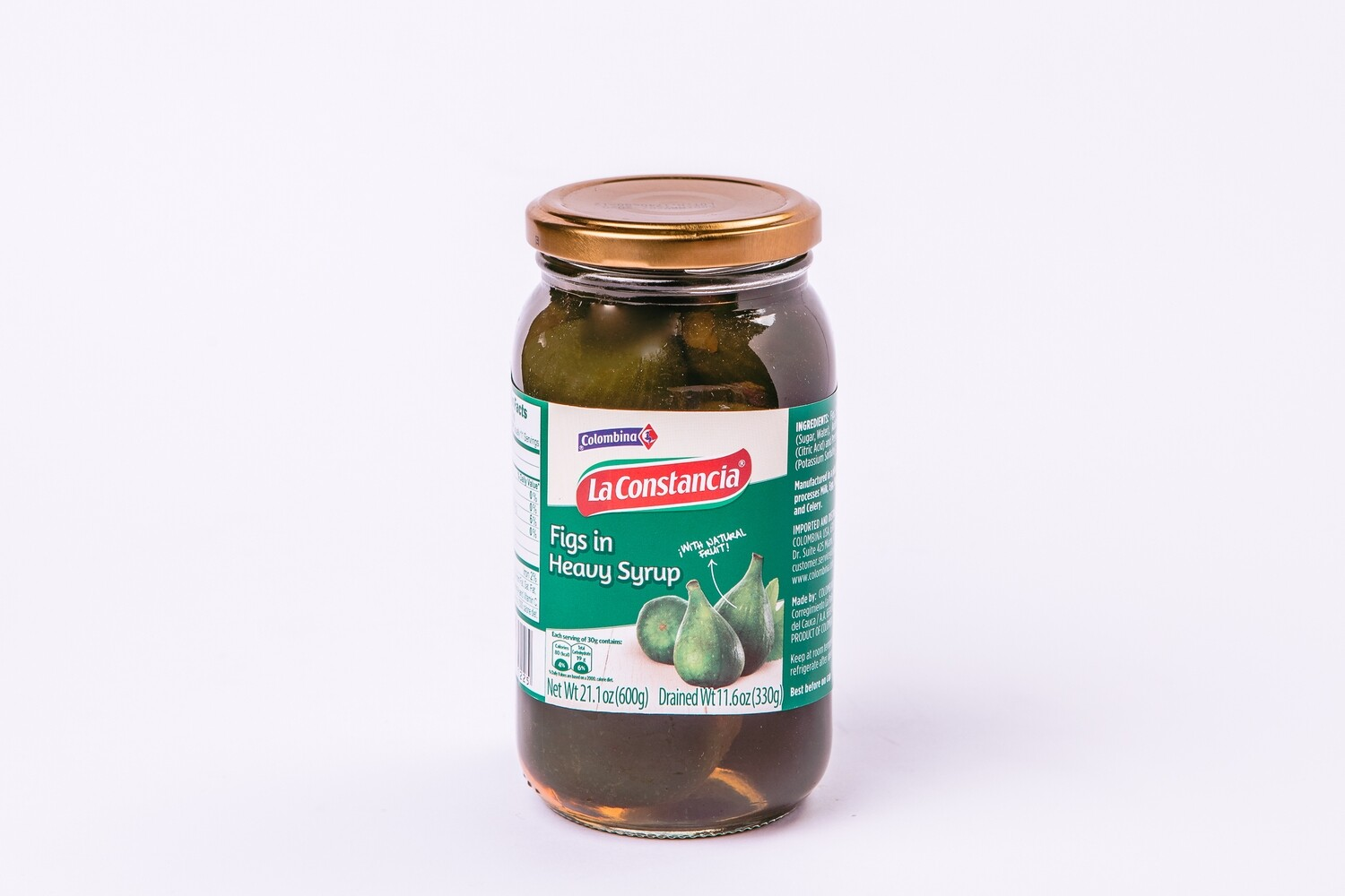 COLOMBINA FIGS IM SYRUP 600G