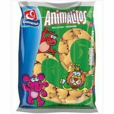 GAMESA ANIMAL COOKIES 16OZ