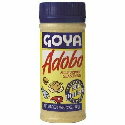 GOYA ADOBO WITHOUT PEPPER 340G