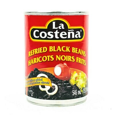 LA COSTENA REFRIED BLACK BEANS 546ML