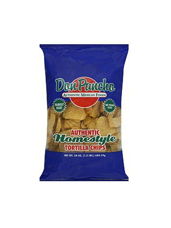 DON PANCHO HOMESTYLE TORTILLA CHIPS 595G