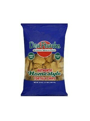 DON PANCHO HOMESTYLE TORTILLA CHIPS 595G