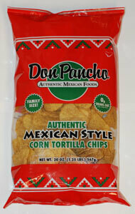 DON PANCHO MEXICAN STYLE TORTILLA CHIPS 567G