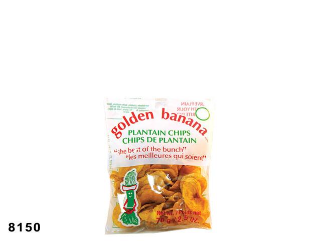 GOLDEN BANANA PLANTAIN CHIPS 70G