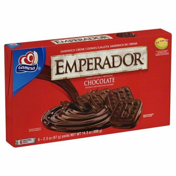 GAMESA EMPERADOR CHOCOLATE 406G