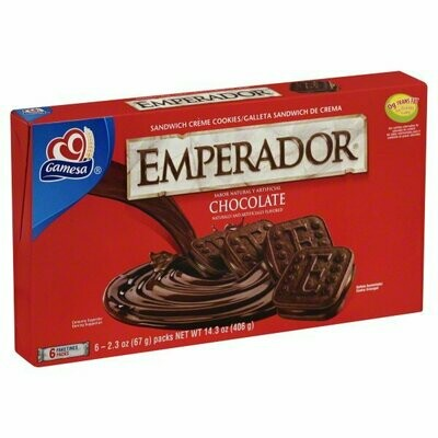 GAMESA EMPERADOR CHOCOLATE 406G
