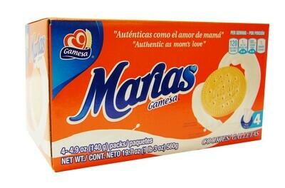 GAMESA MARIA 560G 4 PACKS