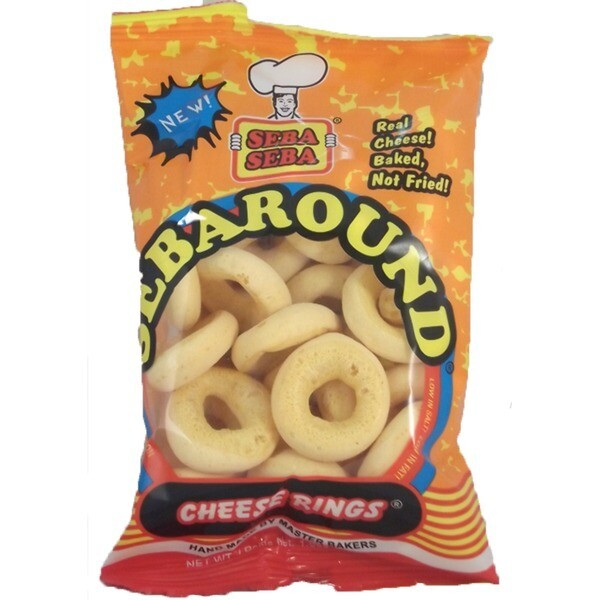 SEBA SEBA SEBAROUND CHEESE RINGS 30G