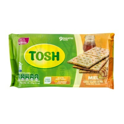 TOSH GALLETAS MIEL 270G