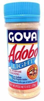 GOYA ADOBO WITH PEPPER LIGHT 226G