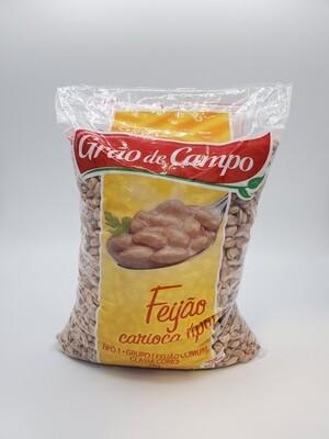 GRAO DE CAMPO FEIJAO CARIOCA 1KG