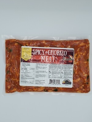 RICOZA SPICY CHORIZO MEAT 454G
