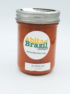 A BITE OF BRAZIL HOT PAPAYA SAUCE 250ML