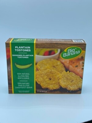 BIG BANANA PLANTAIN TOSTONES 312G