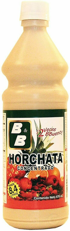 B&B HORCHATA CONCENTRADO 678ML