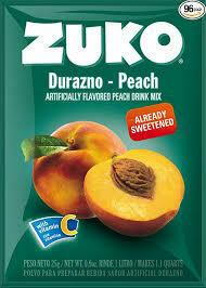 ZUKO PEACH 25G