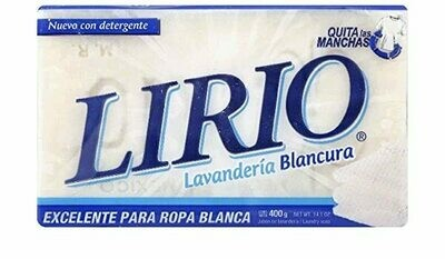 LIRIO WHITE SOAP BAR 400G