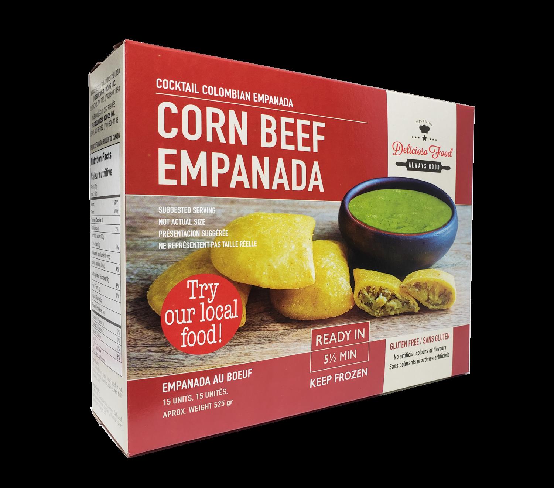 DELICIOSO FOOD EMPANADA BEEF LARGE