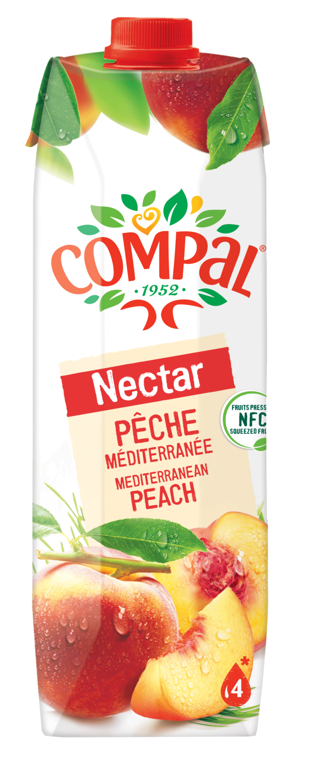 COMPAL PEACH 1L