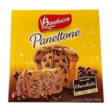 BAUDUCCO PANETTONE CHOCOLATE 750G