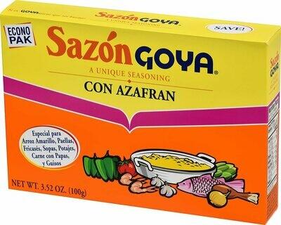 GOYA SAZON CON AZAFRAN 100G