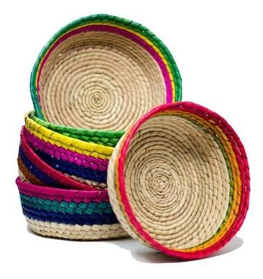 MEXICANA TORTILLERA DE PALMA SIN TAPA EACH