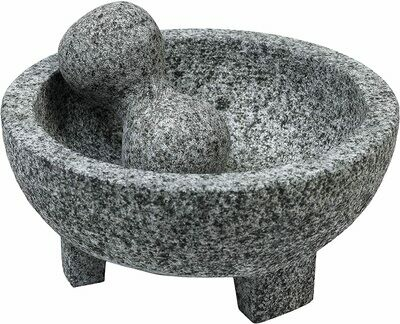 IMUSA MORTAR & PESTLE GRANITE 6