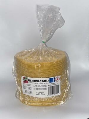EL MERCADO YELLOW CORN TORTILLA 4LB