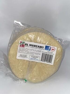 EL MERCADO WHITE CORN TORTILLA 2LB