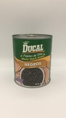DUCAL WHOLE BLACK BEANS 823GR
