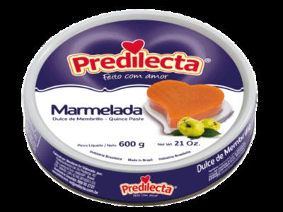PREDILECTA MARMELADA 600G