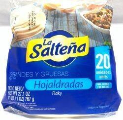 LA SALTENA HOJALDRADA 550G
