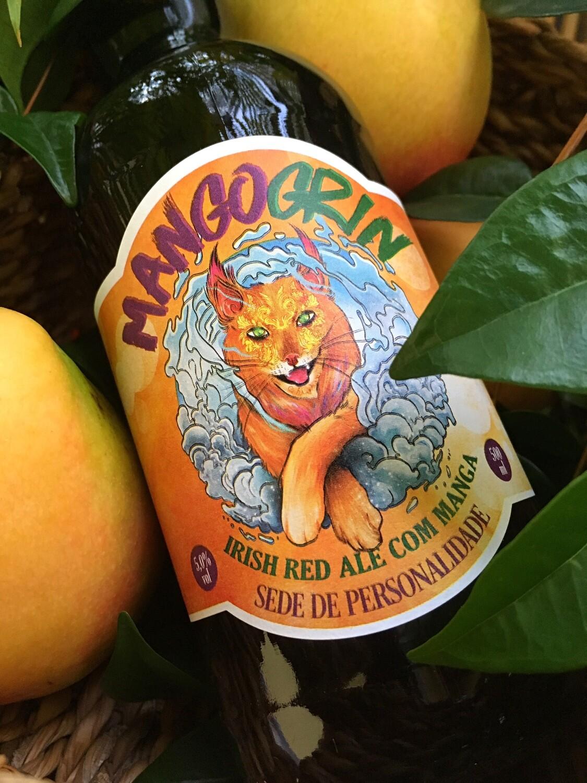 Mango Grin, Irish Red Ale com manga