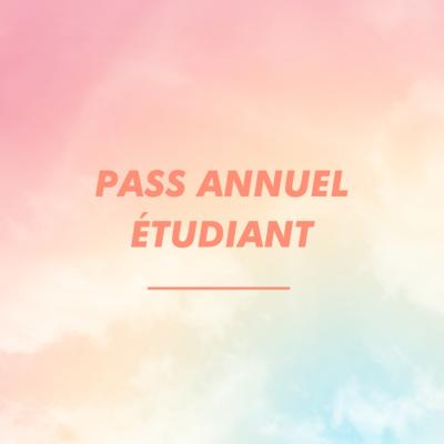 PASS ANNUEL ÉTUDIANT