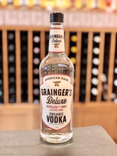 Grainger's Deluxe Vodka ORGANIC/GLUTEN-FREE