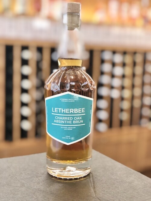 Letherbee Charred Oak Absinthe Brun 375ml