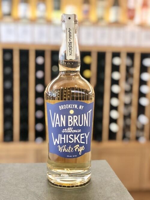Van Brunt Stillhouse White Rye Whiskey