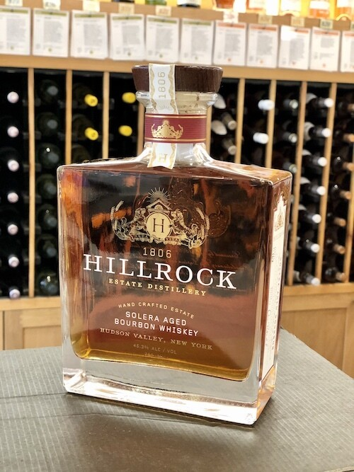 Hillrock Estate Distillery, Solera Aged Bourbon Whiskey 92.6 Proof