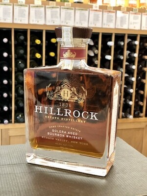 Hillrock Solera Aged Bourbon Whiskey 92.6 Proof