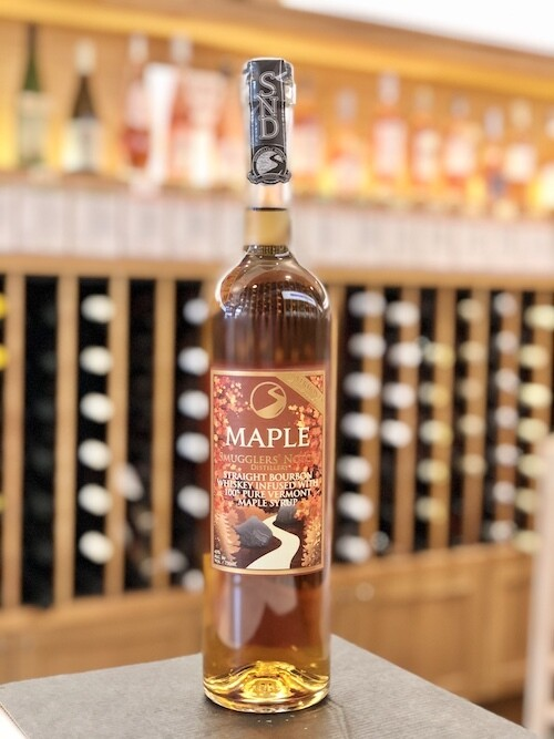 Smugglers' Notch Distillery, Maple Straight Bourbon Whiskey