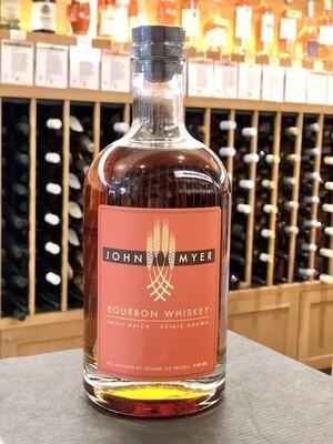 John Myer Small Batch Straight Bourbon ORGANIC/SUSTAINABLE