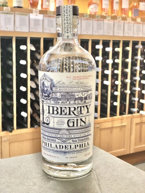 Liberty Gin, W.P. Palmer