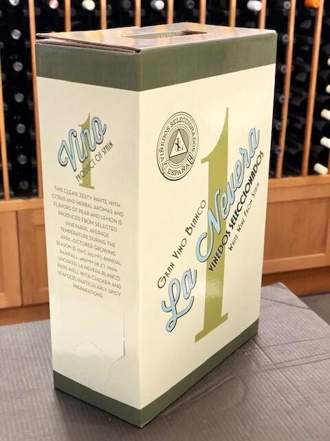 La Nevera, Gran Vino Blanco 3L Bag-In-Box SUSTAINABLE